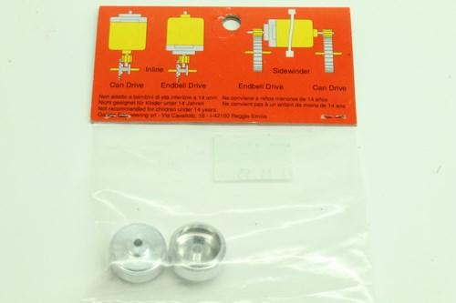 #102 Slot It Aluminium light Wheels 015×8.2×2.25 M2 Grub Screw (2)