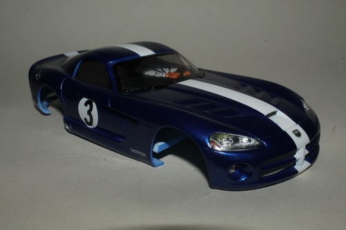 7a, Pre painted Dodge Viper body, 52g