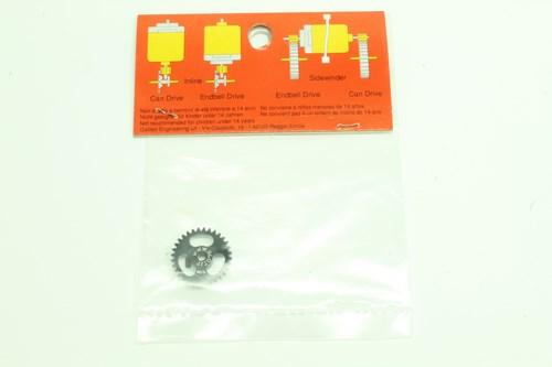 #88 Slot It SideWinder Gear Light Ergal Light Z32 ProAxle System 1-32 axle (2)